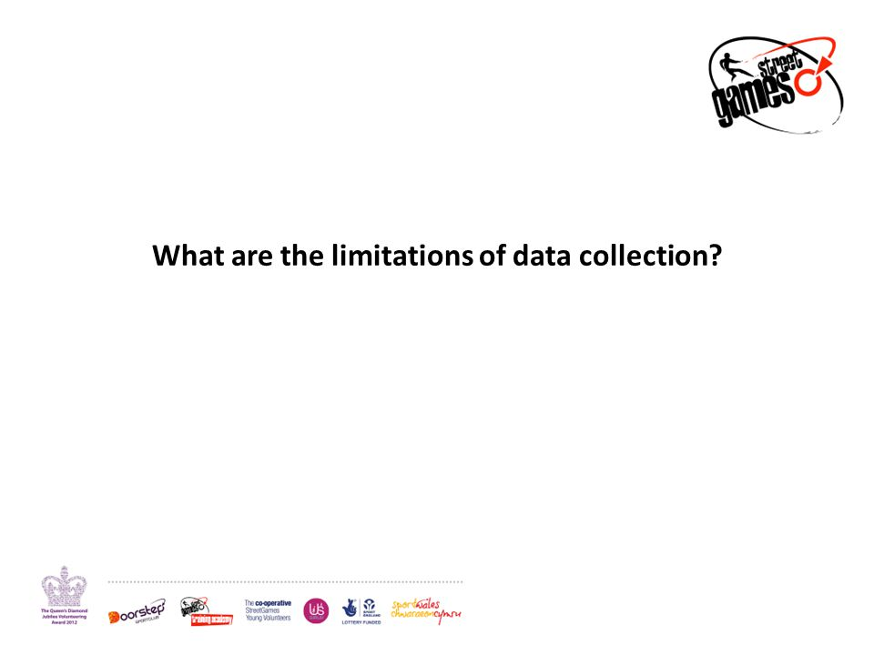 What are the limitations of data collection