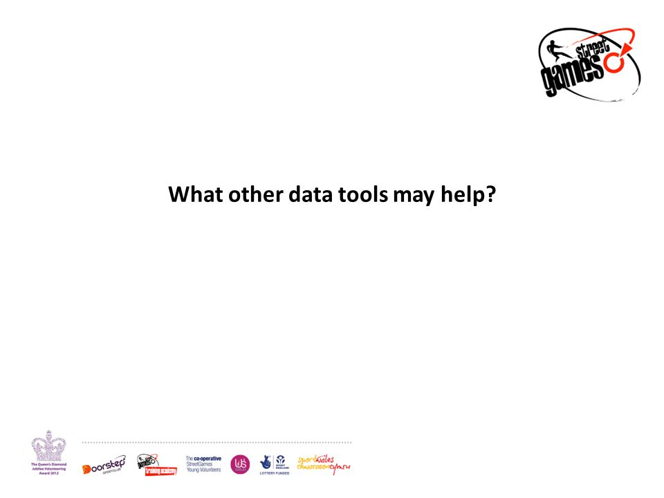 What other data tools may help
