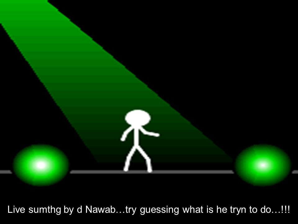 Live sumthg by d Nawab…try guessing what is he tryn to do…!!!