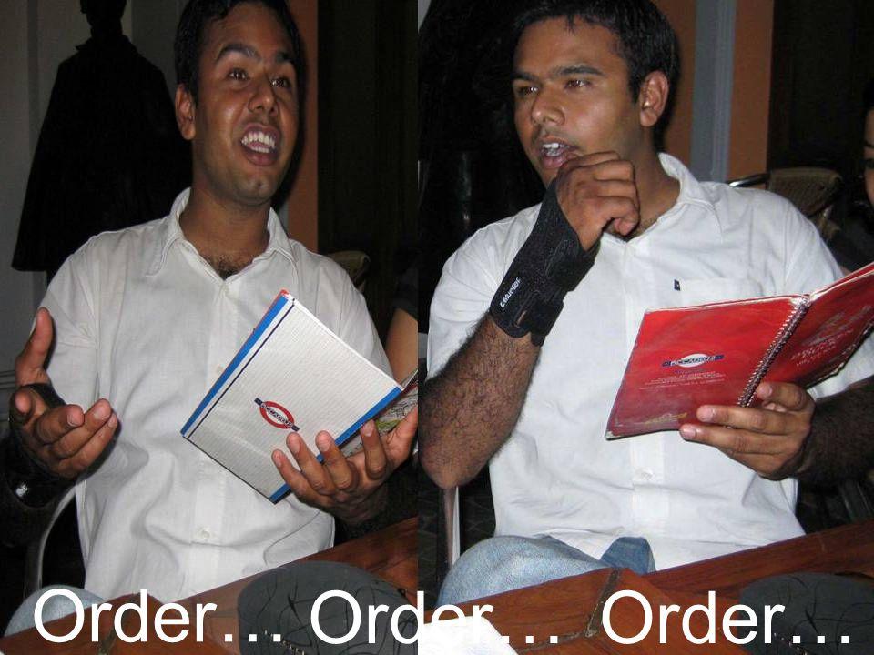 Order…