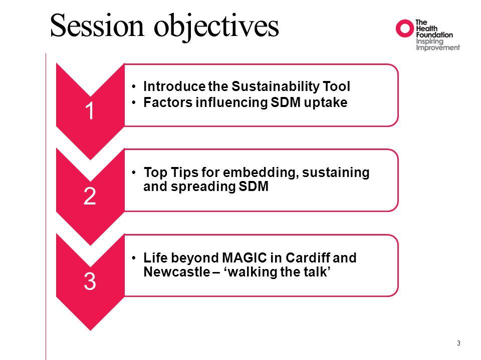 Sustainability Tool 4 www.institute.nhs.uk/sustainability