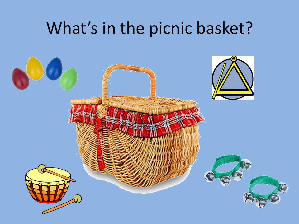 What's in the picnic basket