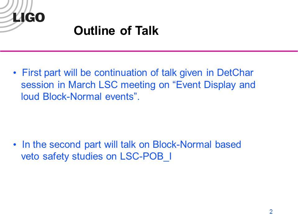 3 Updates since last meeting Got rid of SPOB channels.