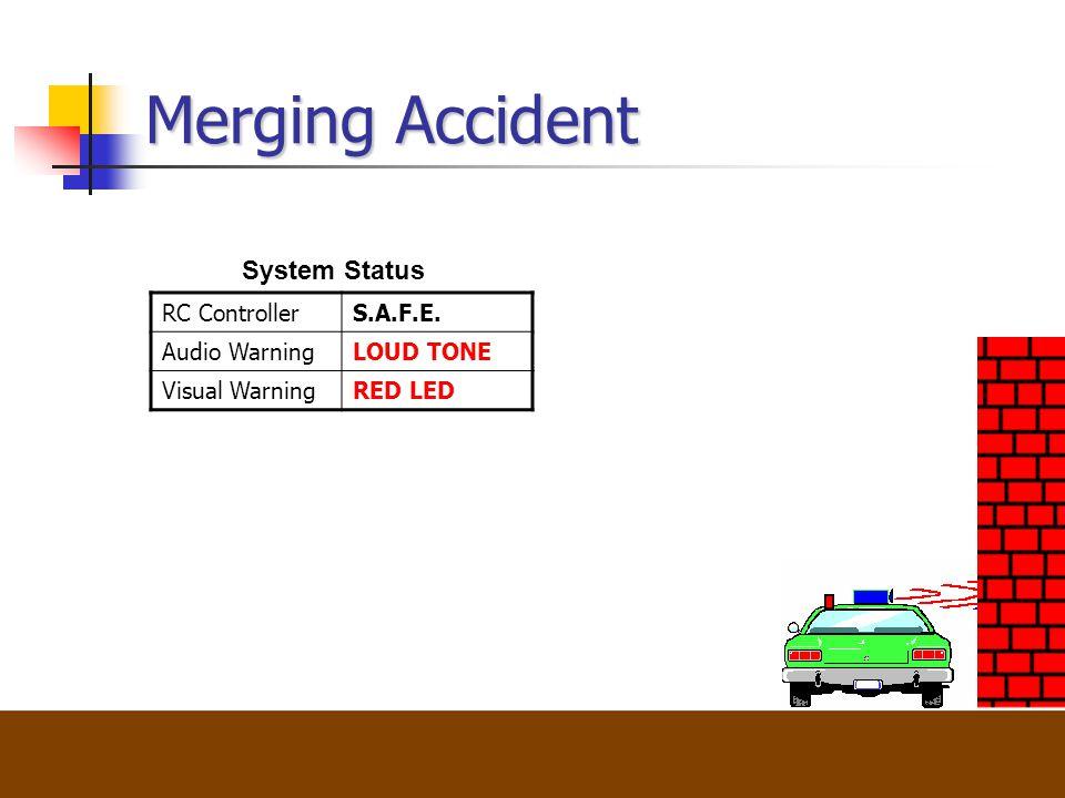 Lahr,Fornberg,Groves,Henriquez,Lyons Merging Accident System Status RC ControllerS.A.F.E.