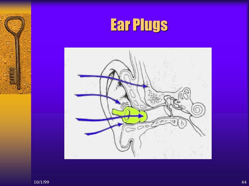 10/1/9943 Hearing Protectors