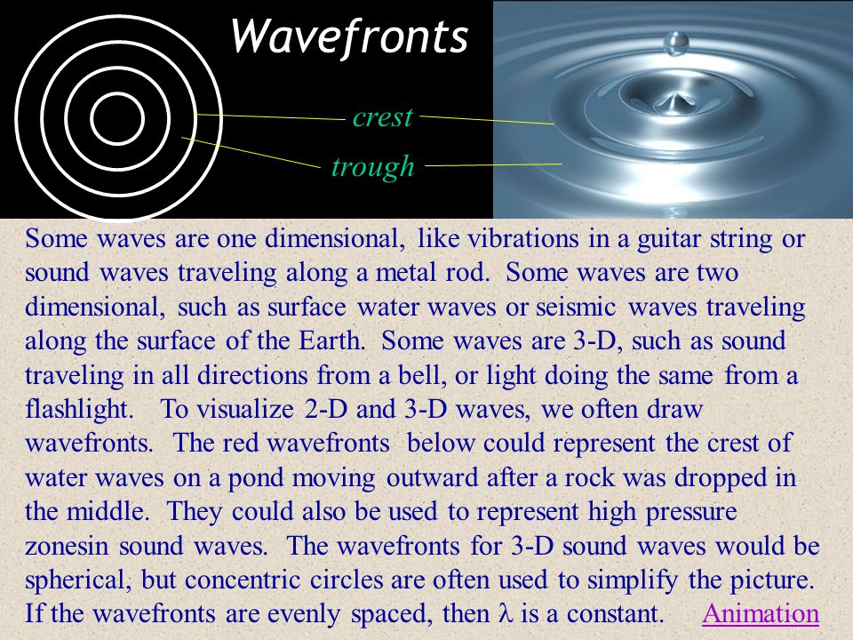 Temperature & the Speed of Sound The speed of sound in dry air is given by: v  331.4 + 0.60 T, where T is air temp in°C.