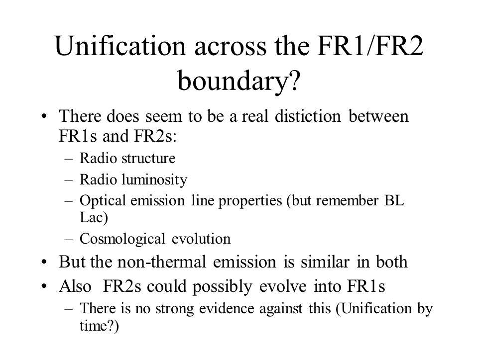 Unification across the FR1/FR2 boundary.