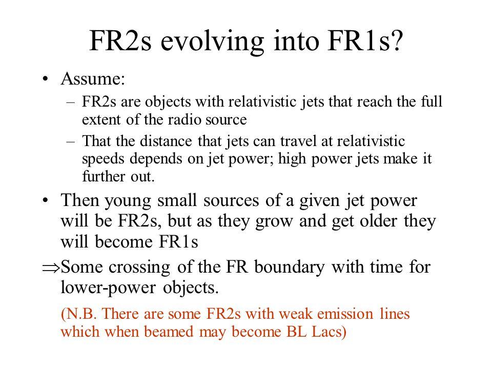 FR2s evolving into FR1s.