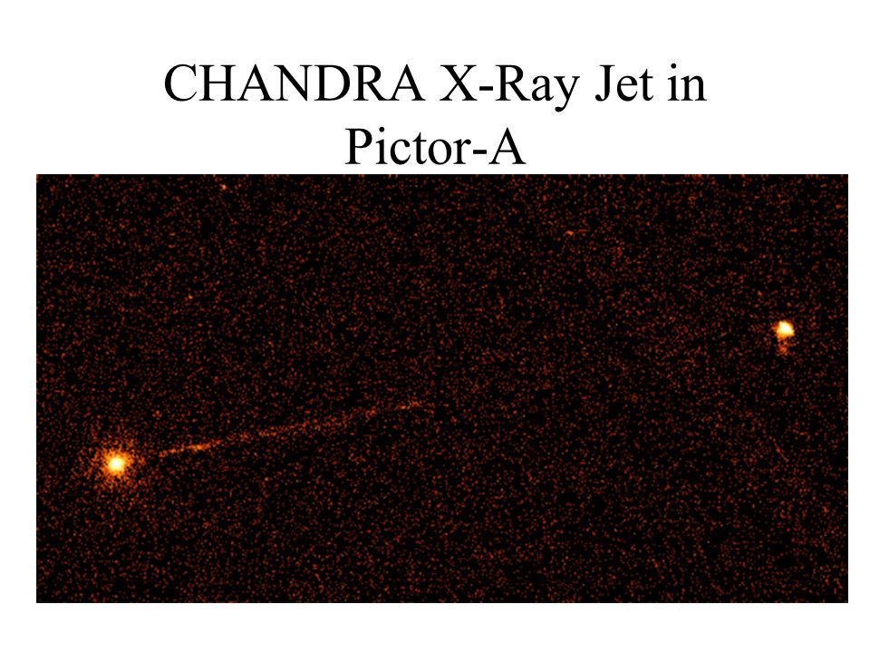 CHANDRA X-Ray Jet in Pictor-A