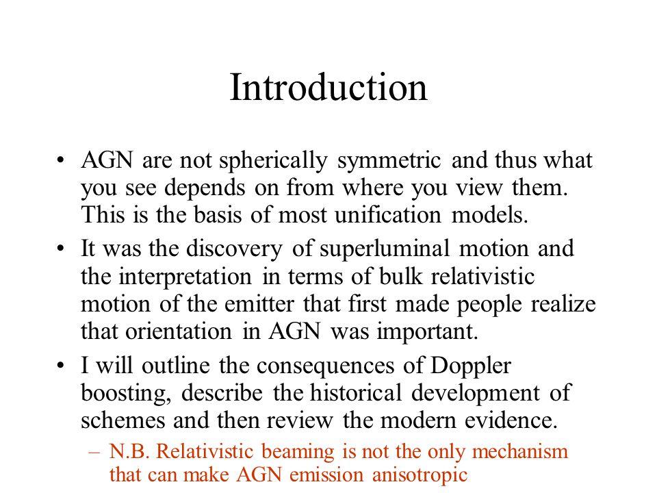 Correlations -- Radio If jets are relativistic, some unification is inevitable.