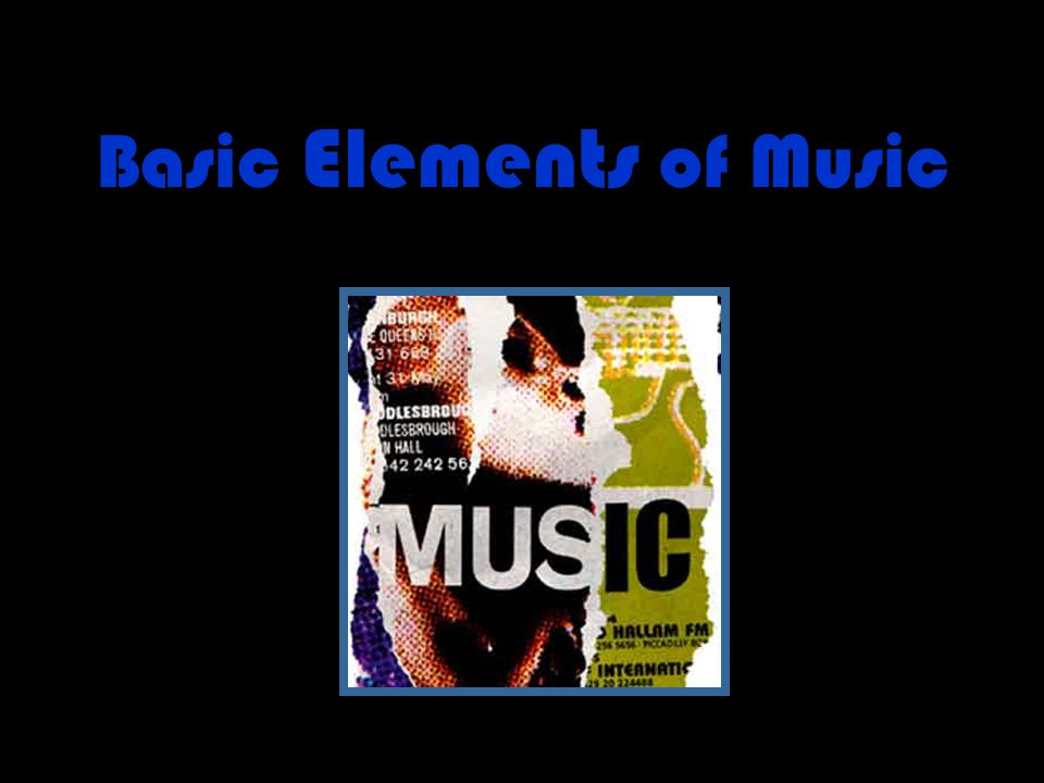 Elements of Music Dynamics Instrumentation Meter Tempo Texture Timbre Is the music soft or loud.