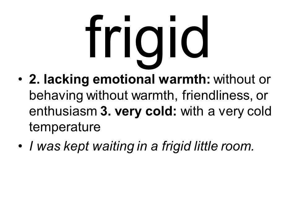 frigid 2.