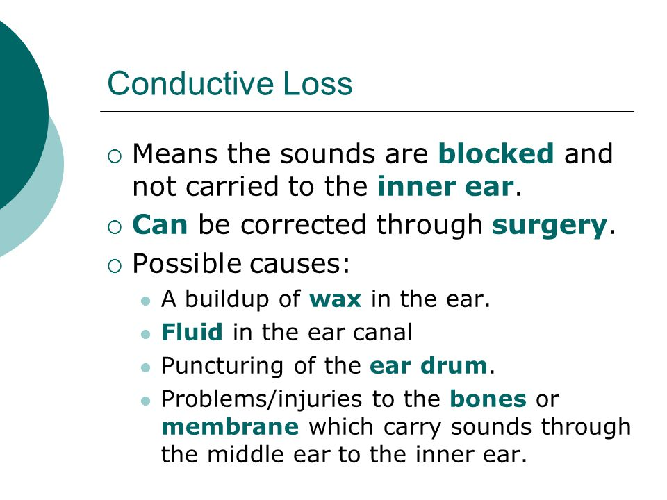 Levels of Hearing Loss  This is a severe hearing loss.