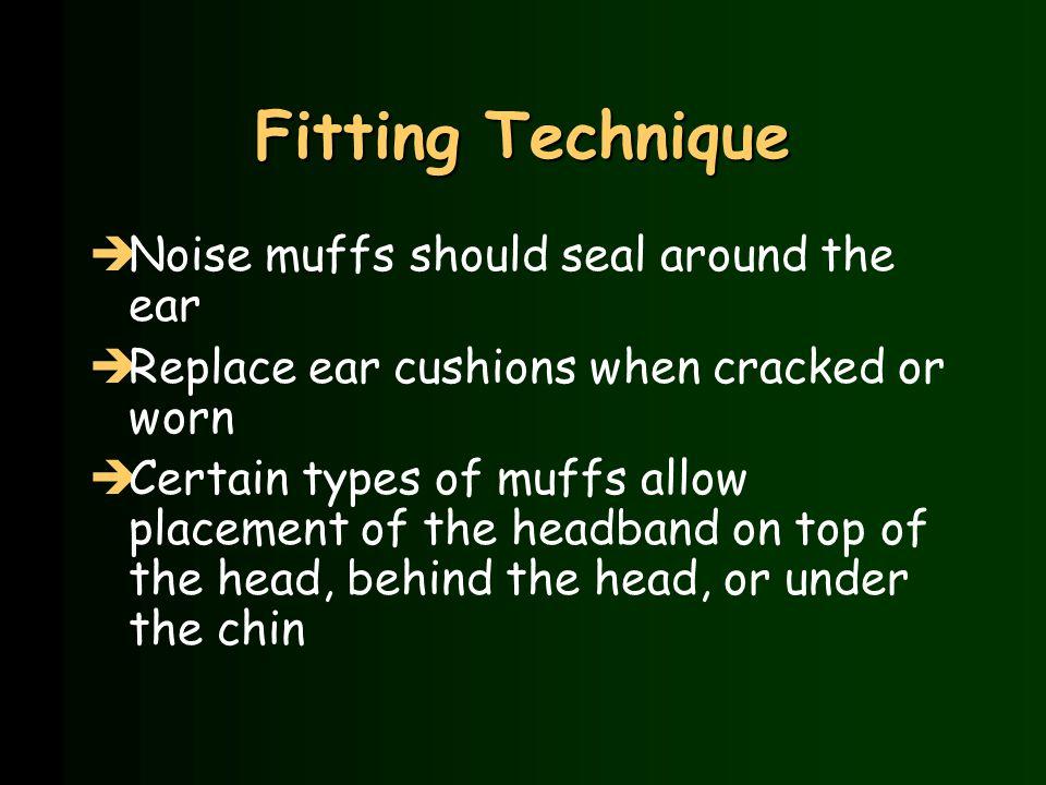 Circumaural Noise Muffs Noise Reduction Rating (NRR)=23dB