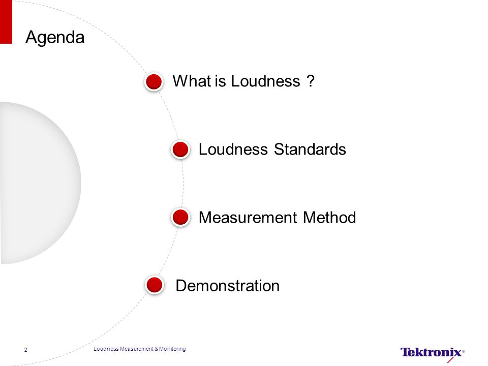 What is Loudness.