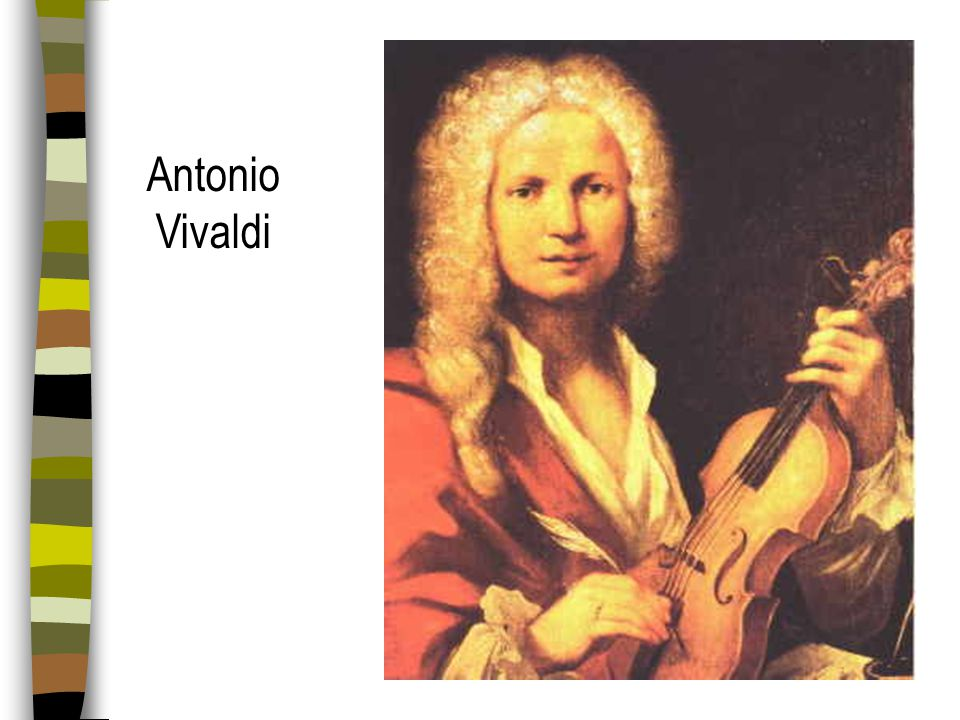 Concerto Grosso Ritornello form - Ritornello (a homphonic or polyphonic block of music) alternating with Episodes (contrasting melodic, softer dynamic