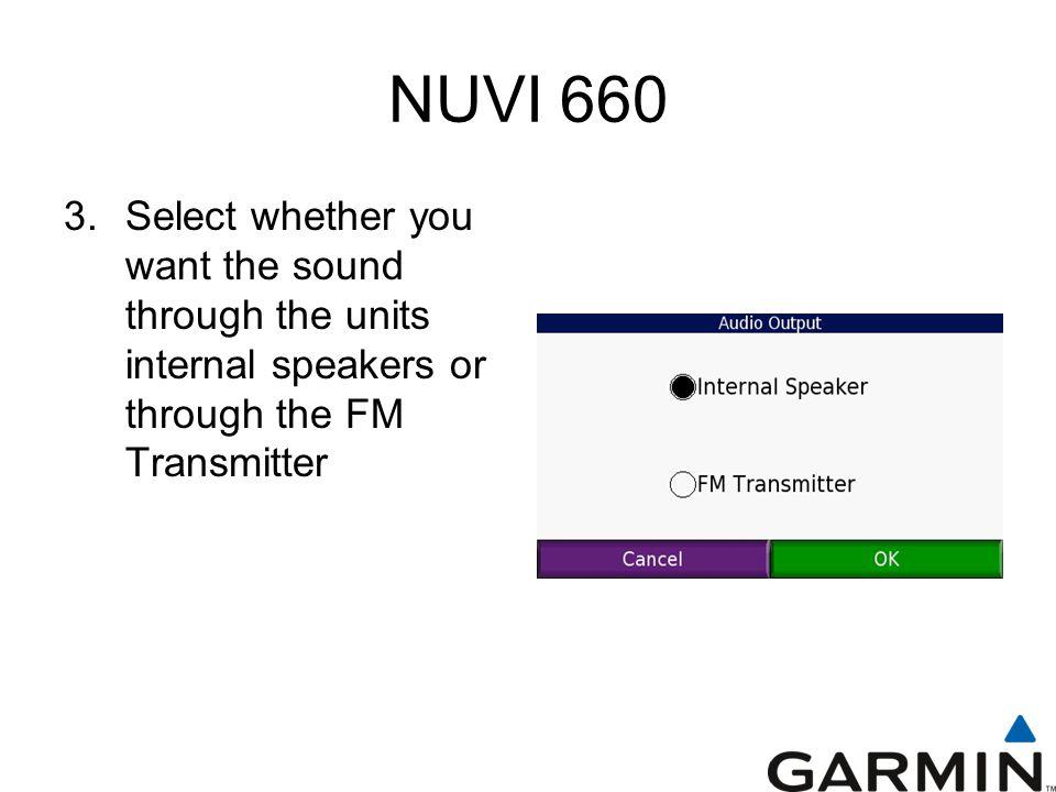 NUVI 660 3.