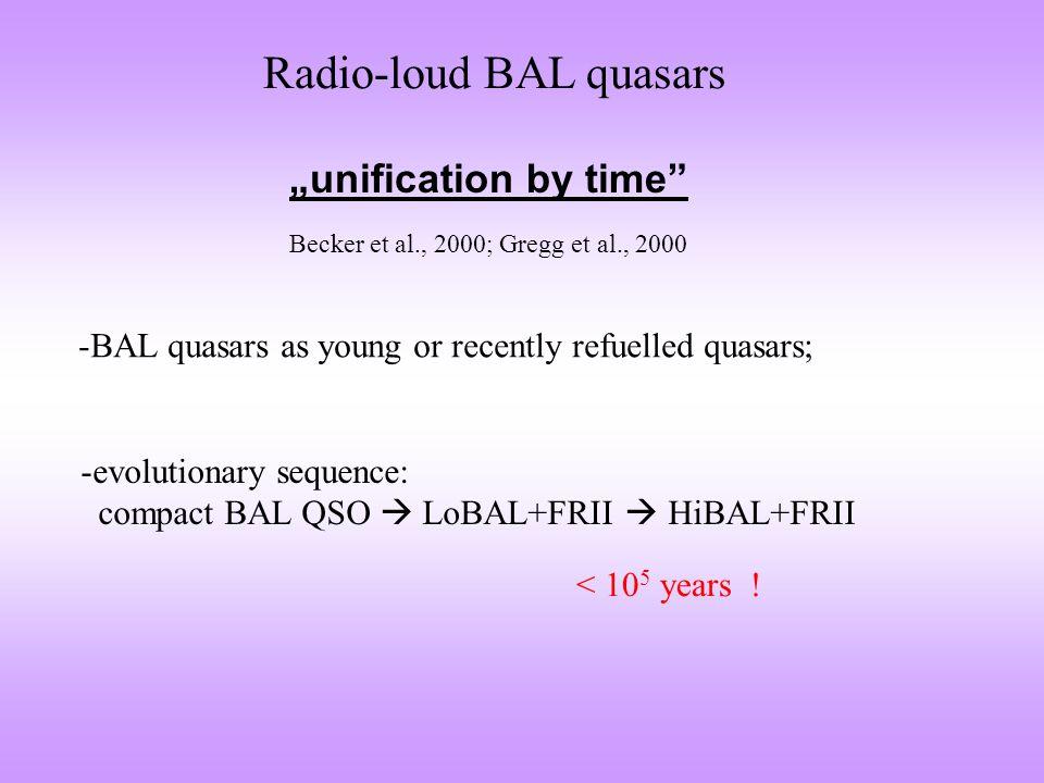 BAL quasar 1045+352 It is a HiBAL quasar. Willott et al., 2002, MNRAS, 331, 435