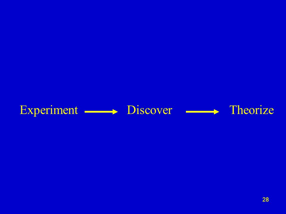 28 ExperimentDiscoverTheorize