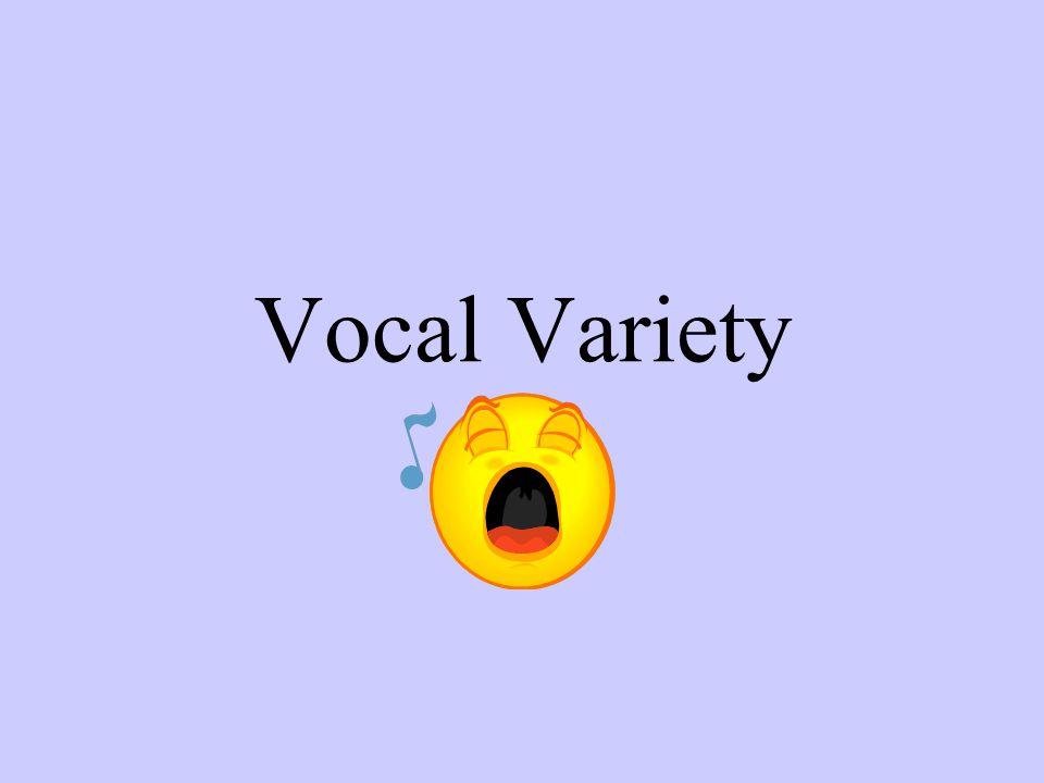 Vocal Variety