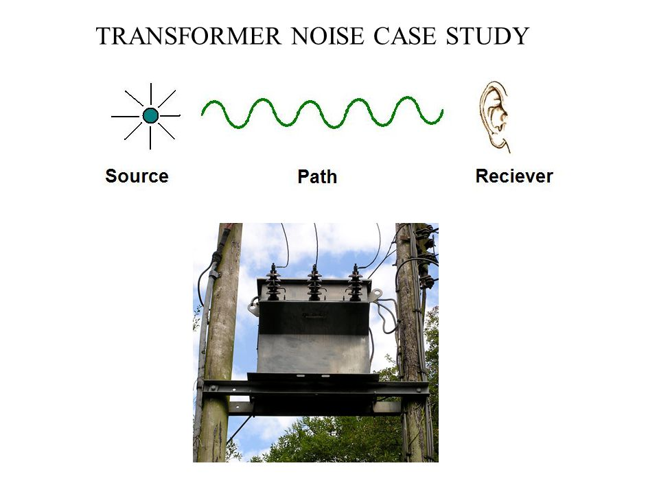 TRANSFORMER NOISE CASE STUDY