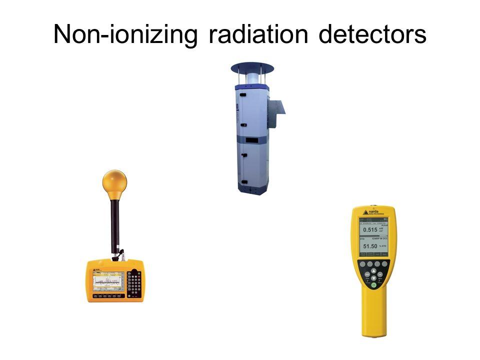 Non-ionizing radiation detectors