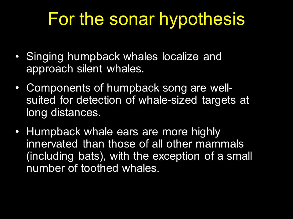 Singing humpback whales localize and approach silent whales.