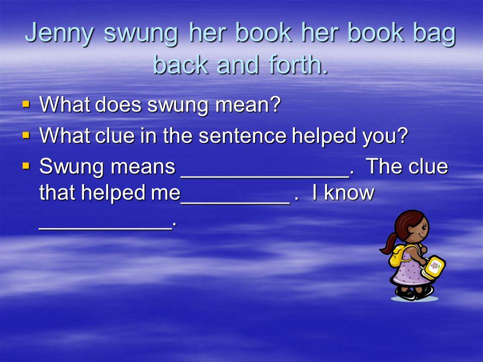 Context Clues Vocabulary