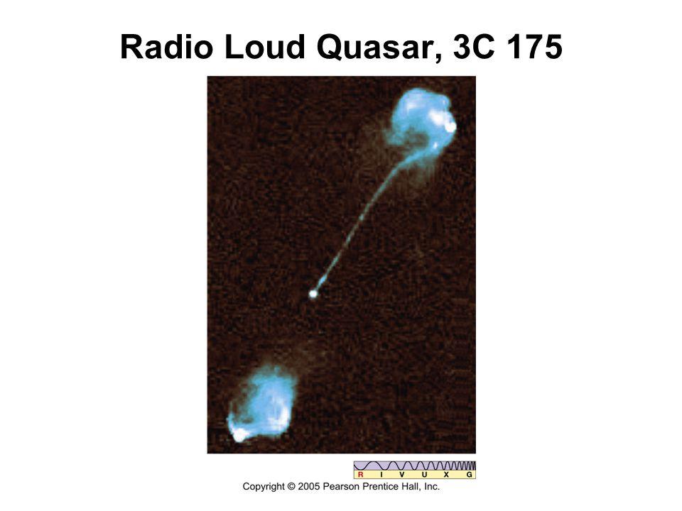 Radio Loud Quasar, 3C 175