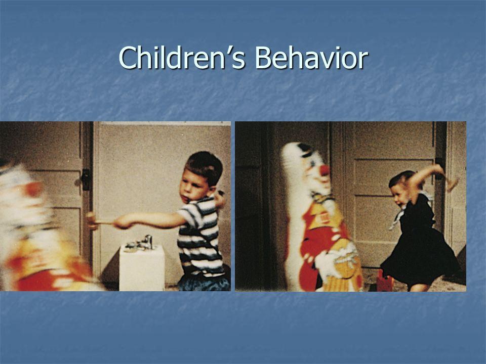 Children's Behavior