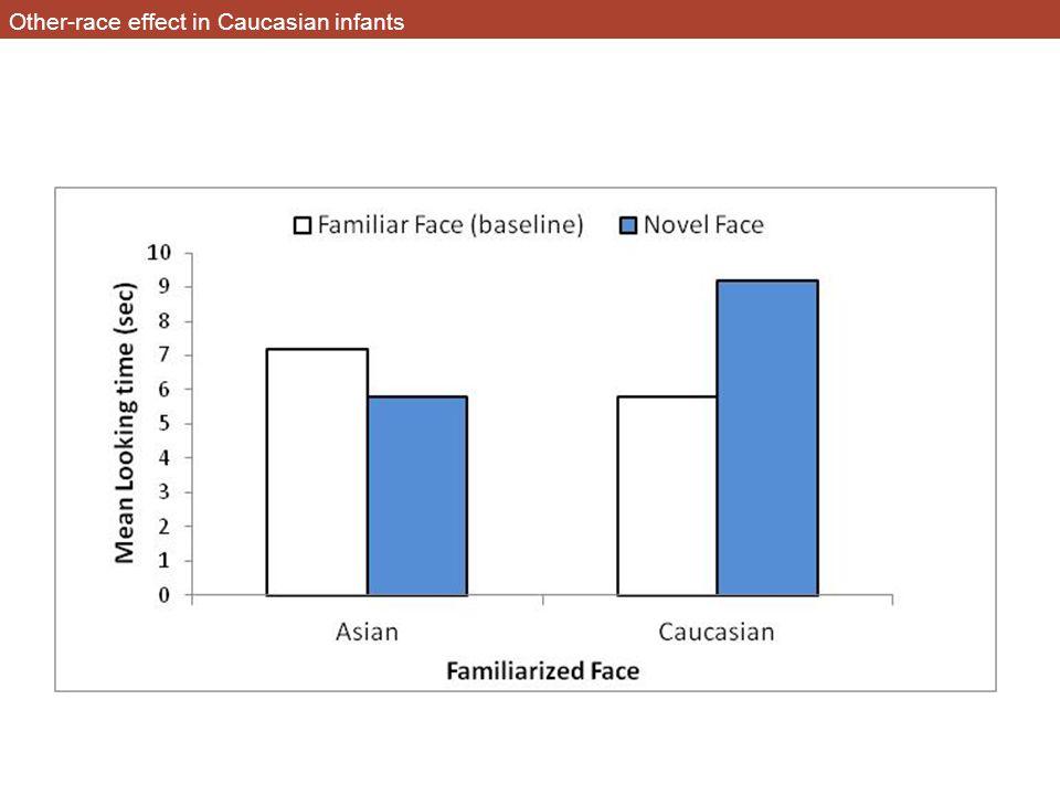 Other-race effect in Caucasian infants
