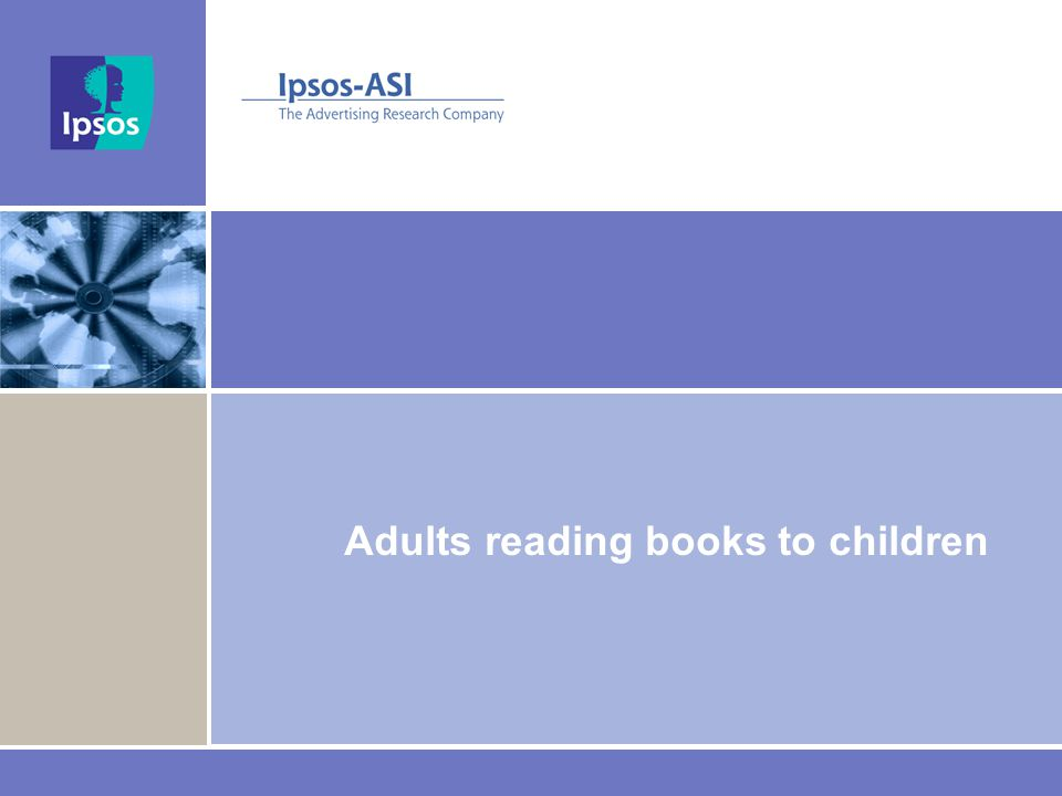 Adults reading books to children