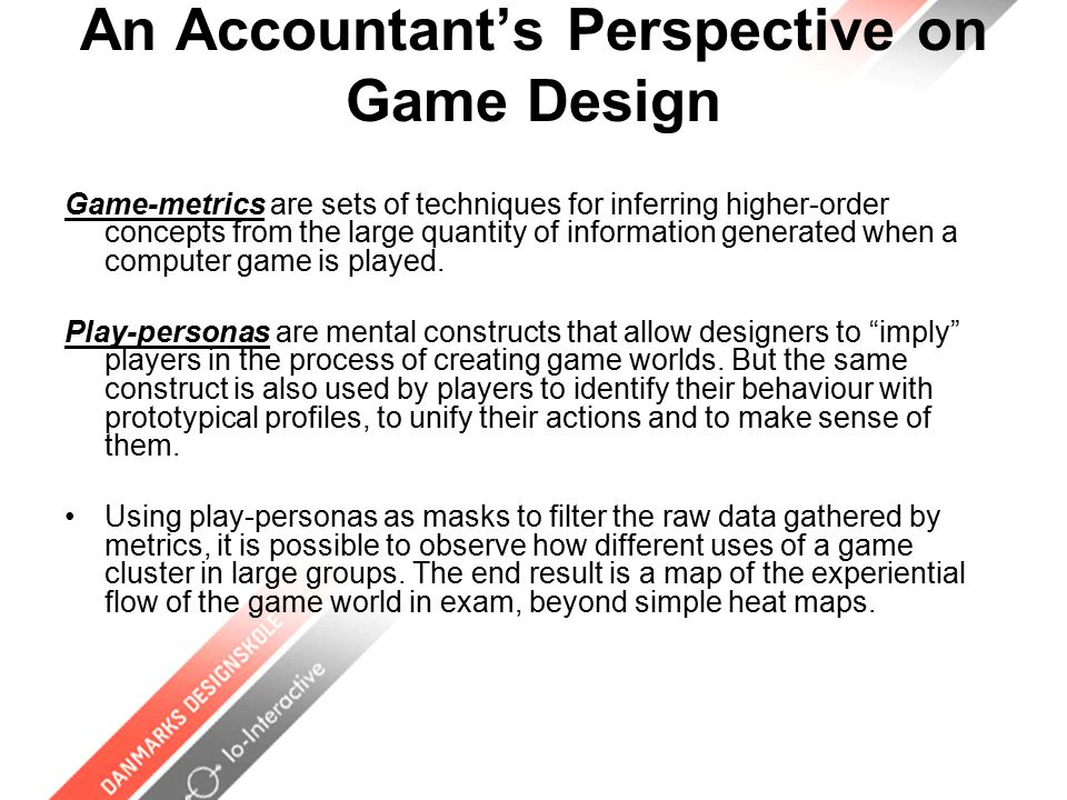GamePlay Gestalts / Schemas / Modes game play gestalts are patterns of interaction between player and the game system.
