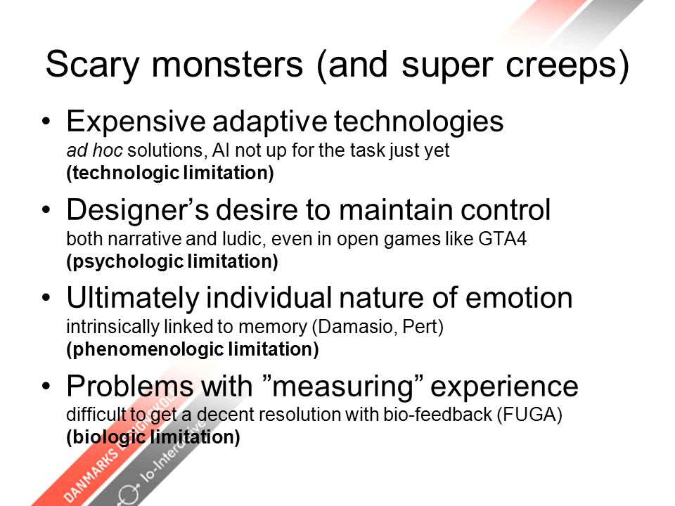 Play-Persona A Priori: It's a metaphore within which to capture coherent navigation and interaction attitudes, it signifies, unifies or distinguishes players from each other.