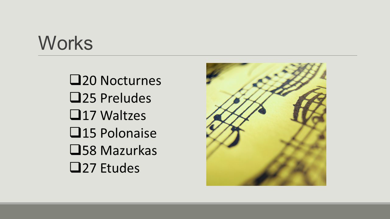Listening Guides Ballade No.1 in G Minor (cont.) xxvii.