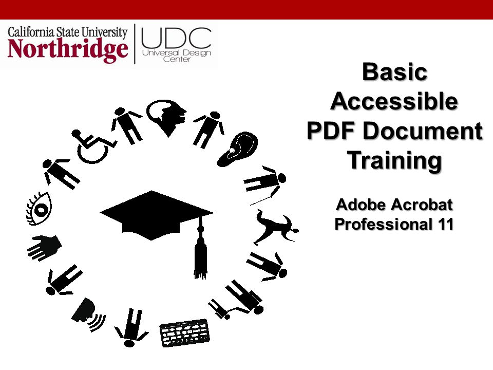 Agenda for PDF Why use PDFs.