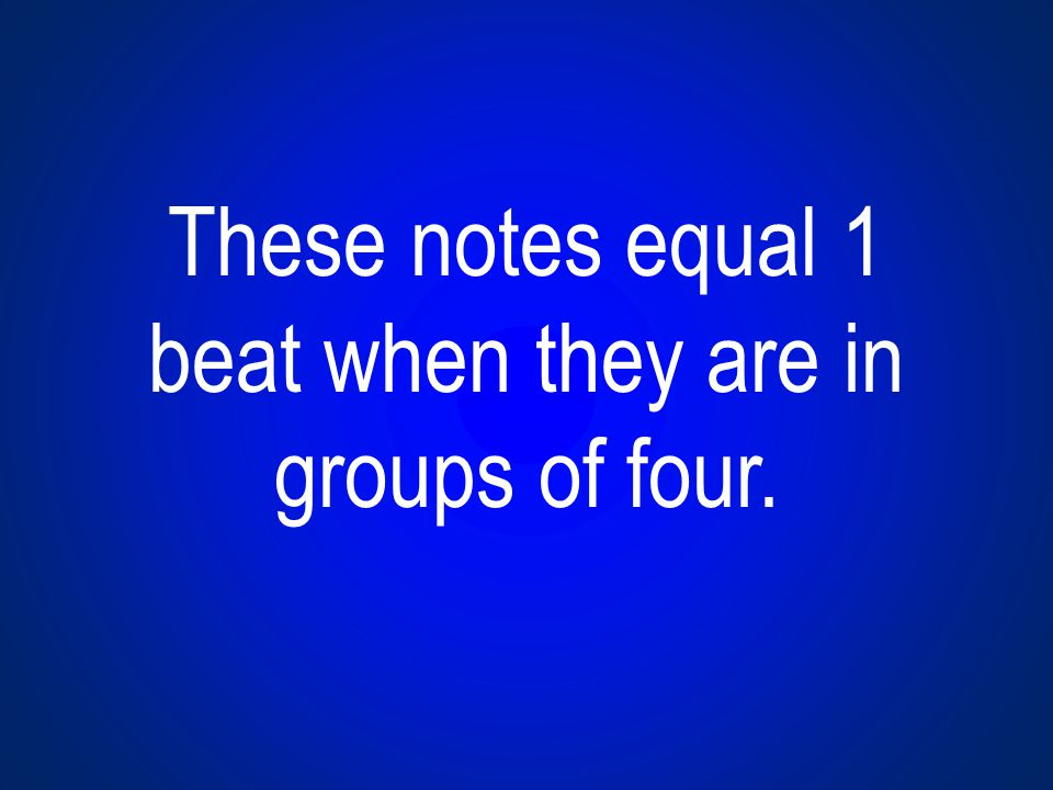 The dotted half note equals this many beats.