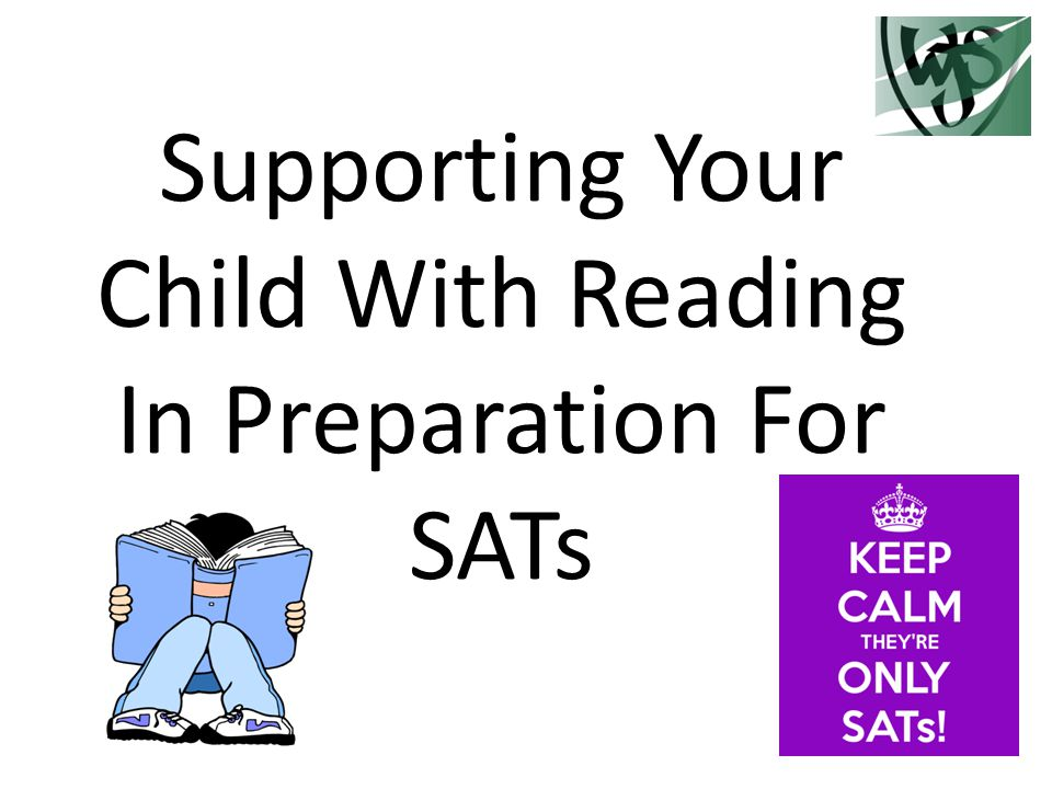 Supporting Your Child With Reading In Preparation For SATs