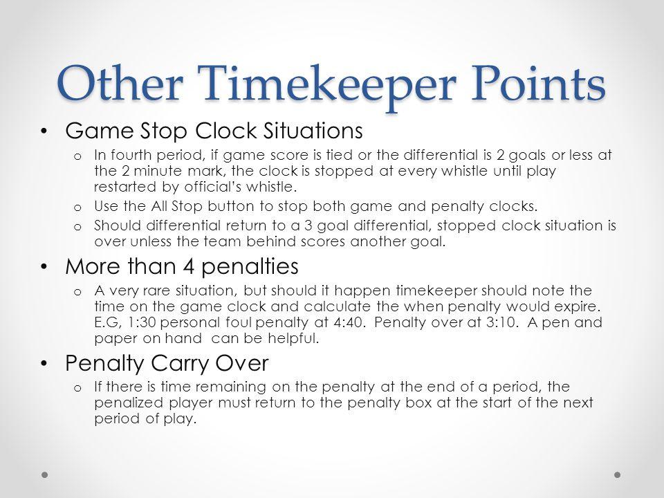 "Presentation ""Time Keeper Training Kansas City Youth Lacrosse Assn ..."