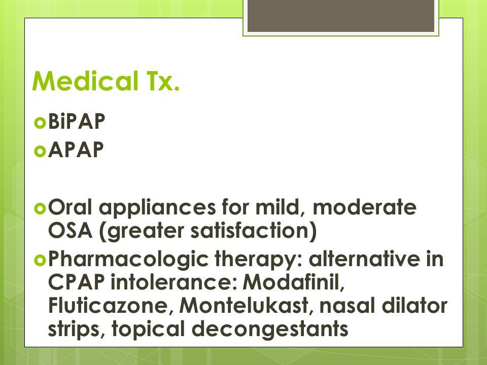 Medical Tx.