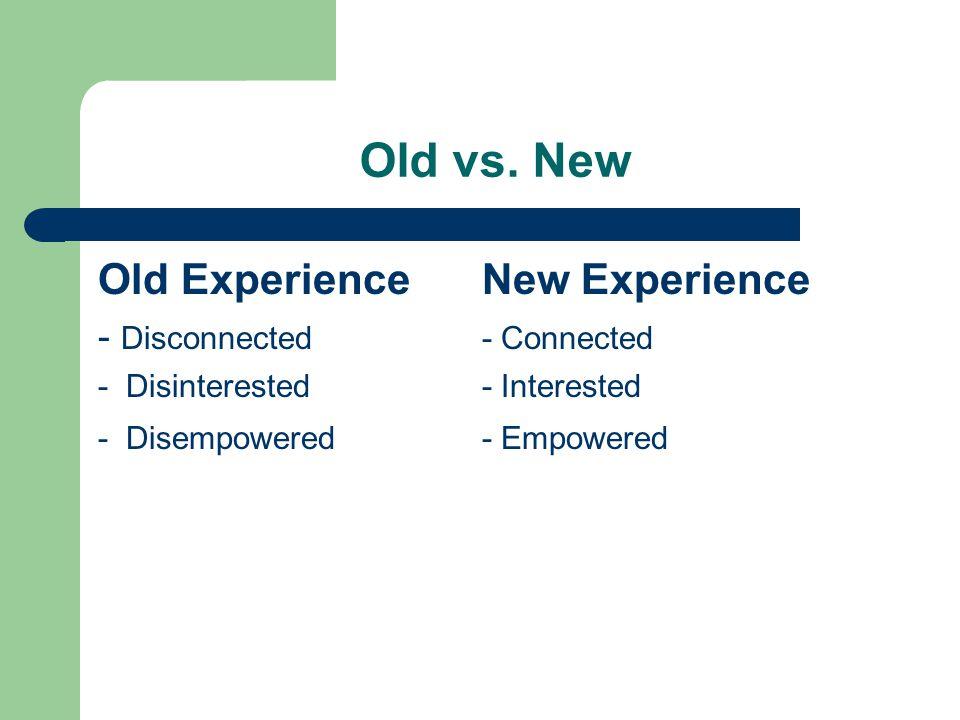 Old vs.
