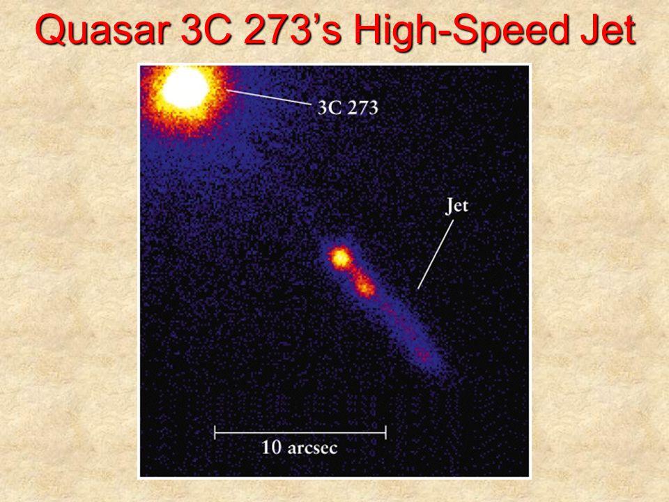 Quasar 3C 273's High-Speed Jet