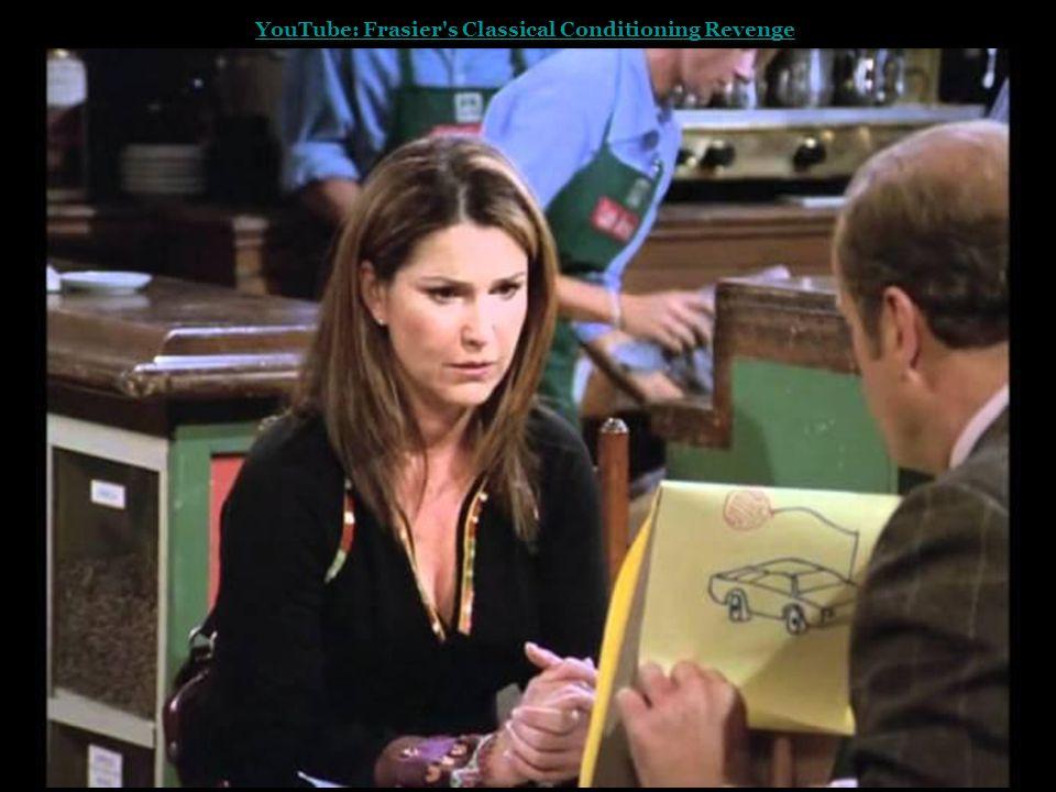 YouTube: Frasier's Classical Conditioning Revenge