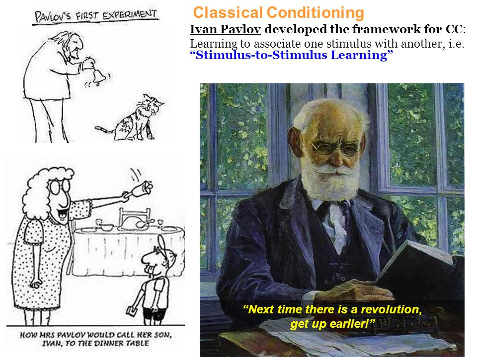 How is the fear of lightning a simple classical conditioning situation.