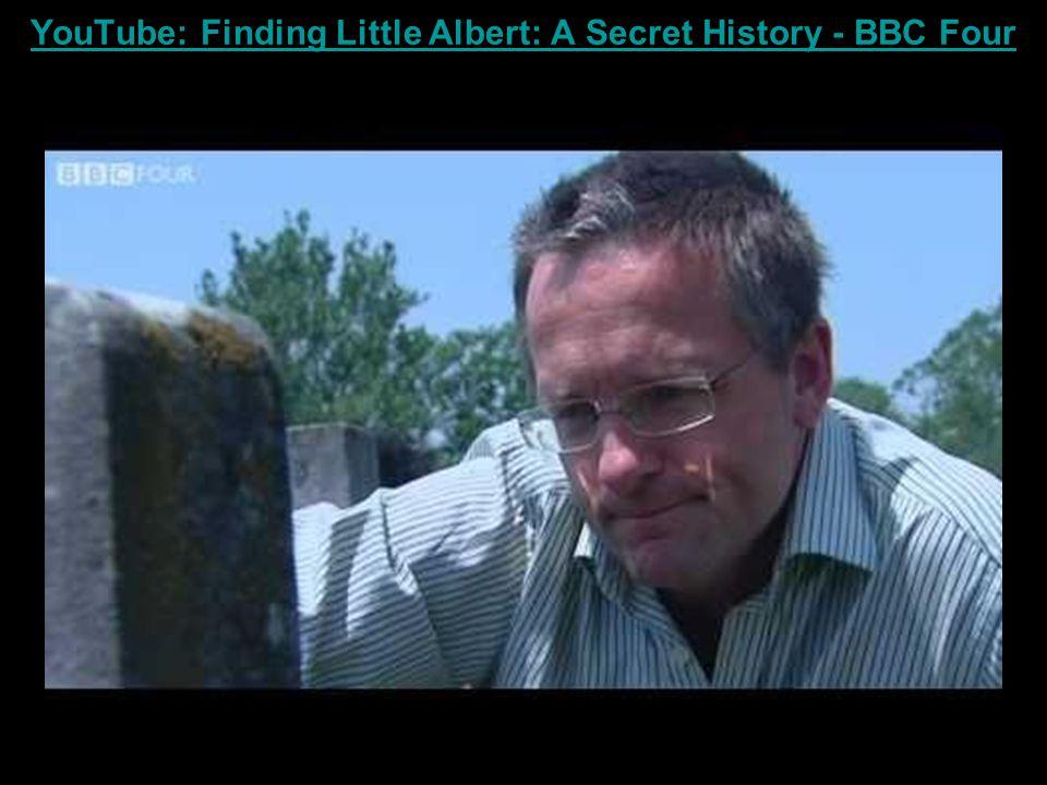 YouTube: Finding Little Albert: A Secret History - BBC Four
