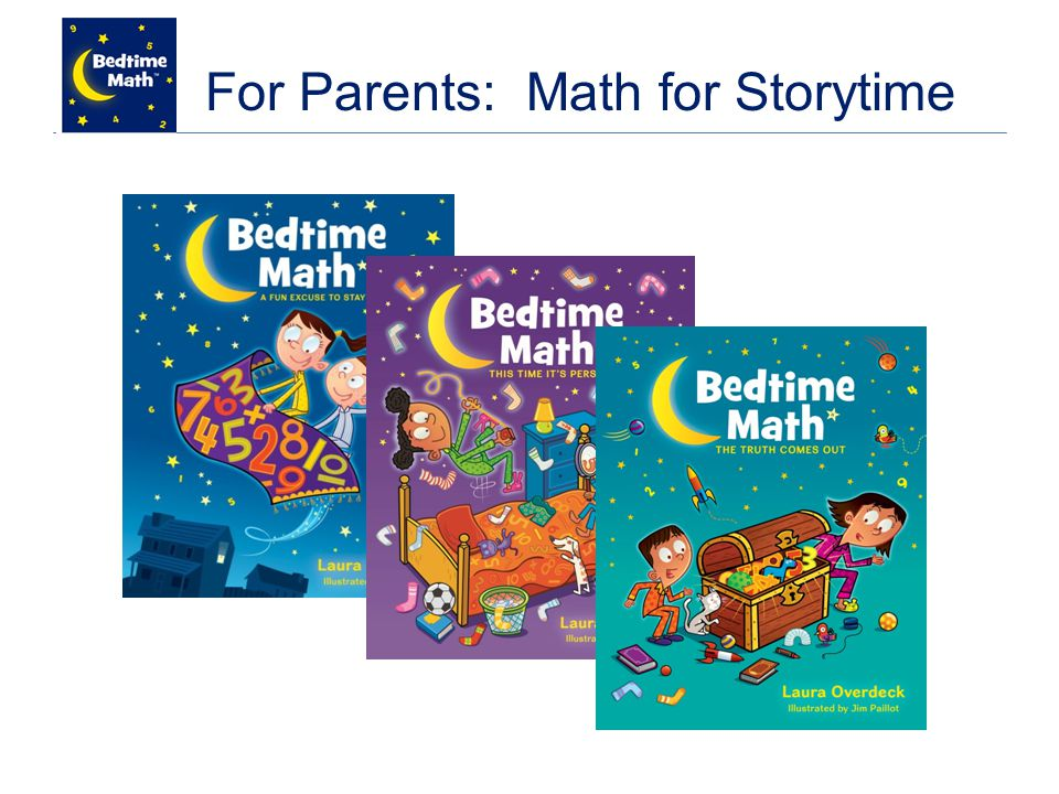 For Parents: Math for Storytime