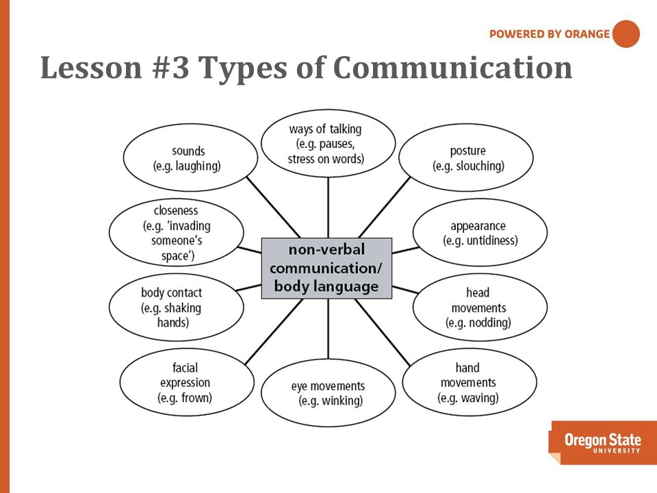 Lesson #3 Types of Communication