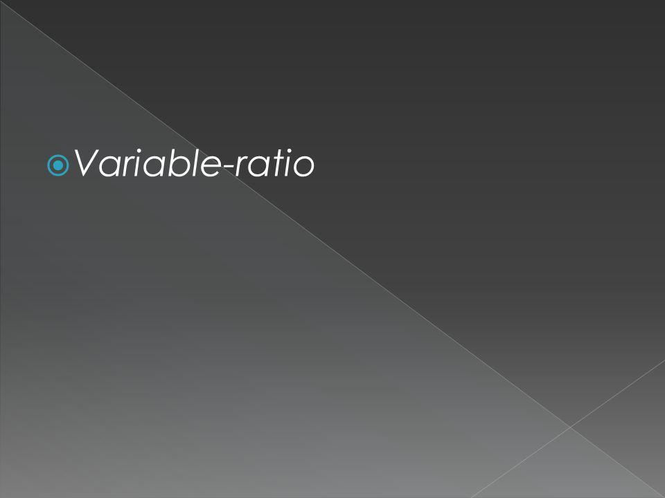 Variable-ratio