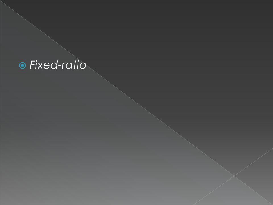  Fixed-ratio