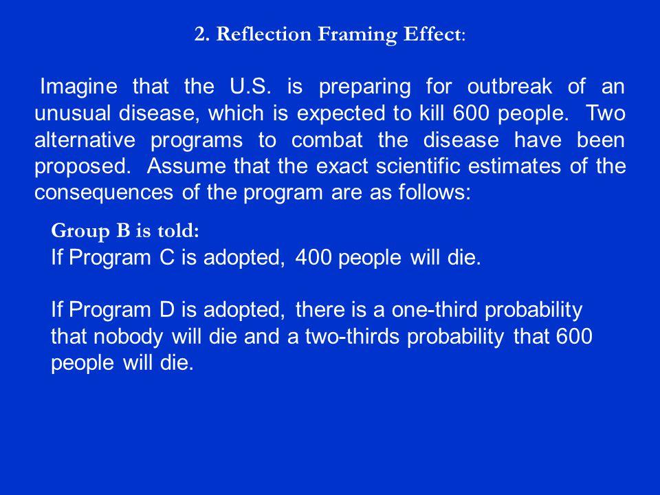 3.Multiple Alternatives: For more information, see: Redelmeier, D.A.